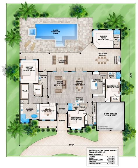 florida ranch house plans