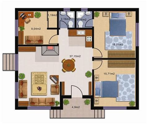 2 bedroom house floor plan 1000 images about intelligent space on pinterest tiny homes on wheels house plans