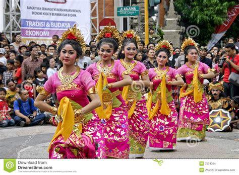 Abstract Gajah Mada balinese dancers editorial stock image image 7574354