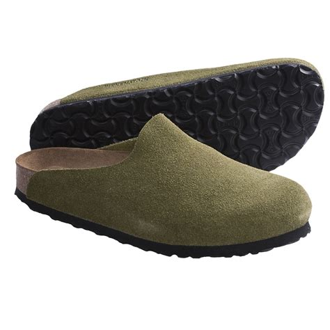 birkenstock clogs for birkenstock amsterdam soft footbed clogs suede for