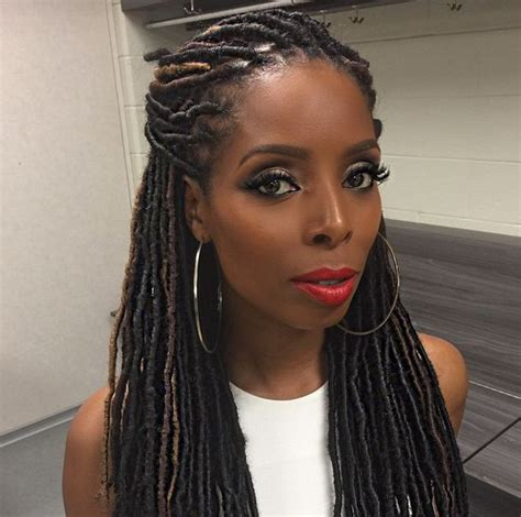 another name for yarn braids tasha smith slaying some faux locs gallery faux locs