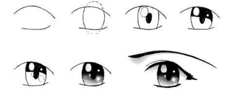 imagenes de ojos tiernos para dibujar aprender a dibujar dibujar una chica manga es hellokids com