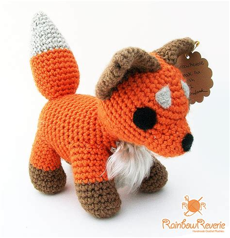 amigurumi fox amigurumi fox by rainbowreverie on deviantart