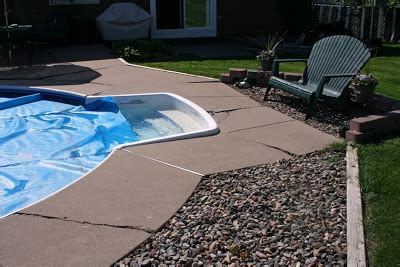 Cottage Grove Pool by Decorative Concrete Concrete Arts Before And After