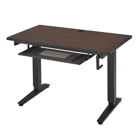 Adjustable Stand Up Desk In Desks And Hutches Adjustable Stand Up Desks