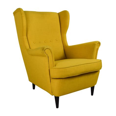 chair armchair 46 off ikea strandmon accent armchair chairs