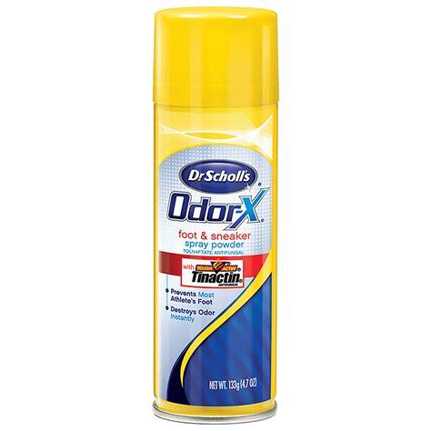 shoe odor spray odor x 174 foot sneaker spray powder shoe deodorizer dr