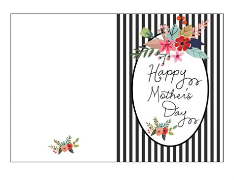 mothers birthday card template mothers day card template new likeness printable happy