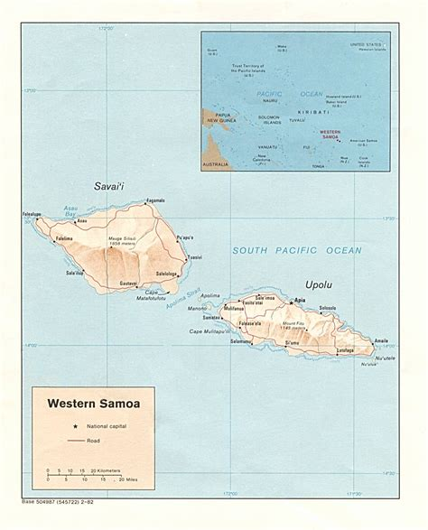 samoa maps perry castaneda map collection ut library