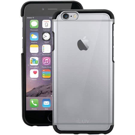 iphone 6 walmart iluv ai6pvynebk apple iphone 6 plus vyneer black walmart
