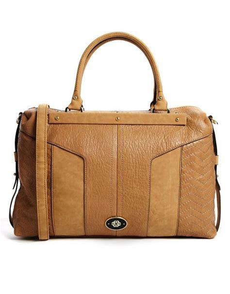 Mischa Bartons Mystery Handbag by Mischa Barton Mischa Barton Camel Handbag