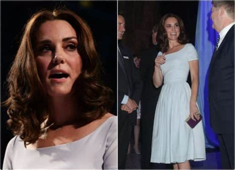 duchess kate shows off her new hairstyle picture the kate middleton shows off new hairstyle at launch in