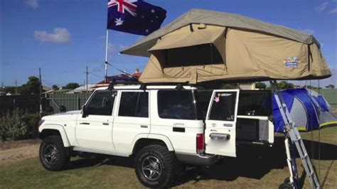 Awning Mounting Brackets Rooftop Tent Setup Youtube
