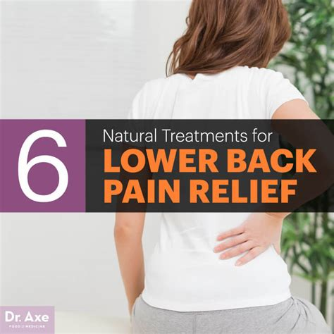 lower back relief with 6 treatments dr axe
