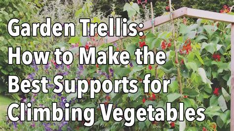 garden trellis      supports
