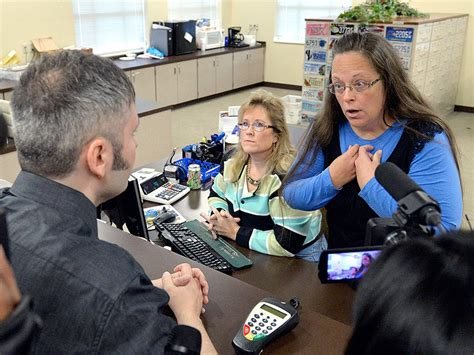 Pitt County Marriage Records Davis Married Four Times Refuses To Issue Same Marriage Licenses