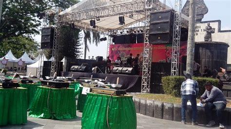 layout sound system panggung jasa penyewaan panggung rigging jogja sewa panggung