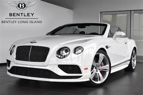 2017 white bentley convertible 2017 bentley continental gt speed convertible bentley