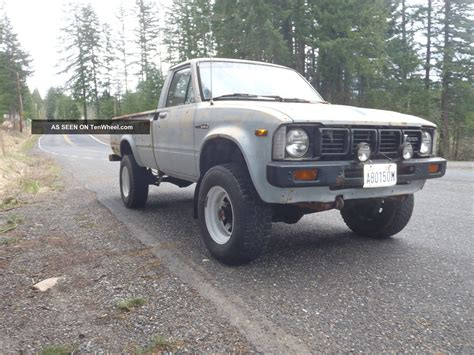 1981 Toyota Truck 1981 Toyota Truck 4x4 22r Hilux