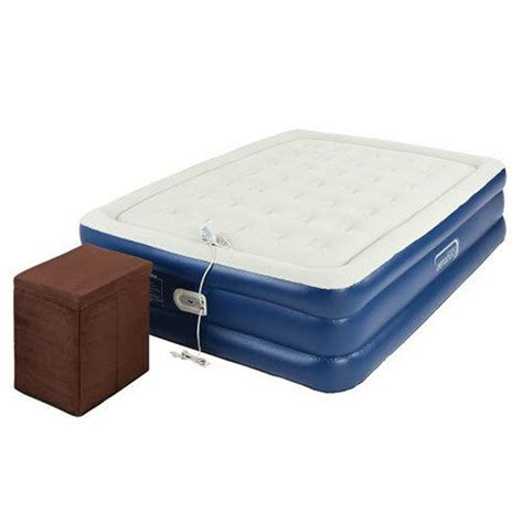 aerobed  queen raised inflatable air bed