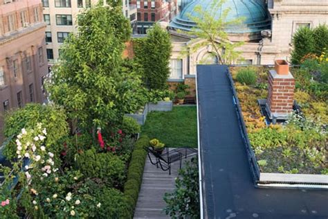 Nyc Gardens by Rooftop Gardening Icecairo
