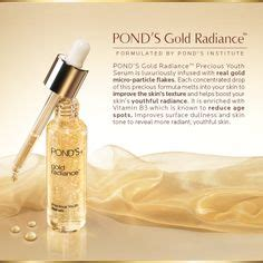 Gold Radiance Precious Youth Serum pond s product 101 on