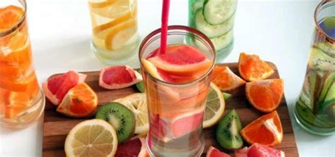 Jump Start Detox Drink Directions by You To Try These Belly Slimming Detox Waters