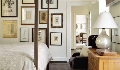 bedroom gallery wall bedroom art wall transitional bedroom