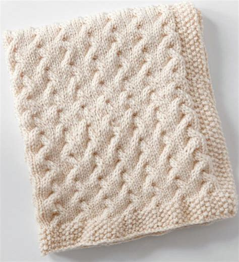 pattern knitted quilt easy baby blanket knitting patterns terry o quinn cable
