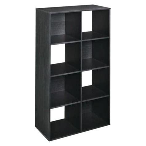 Closetmaid 8 Cube Organizer Alternate To Ikea Expedit Black Cube Shelves