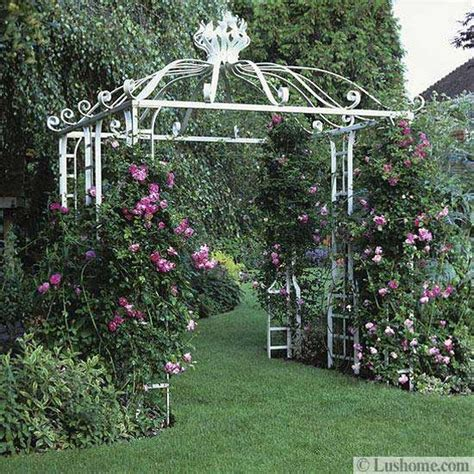 Garden Arch Designs 20 Metal Arches And Beautiful Yard Landscaping Ideas