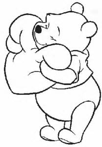 free disney cartoon character coloring pages