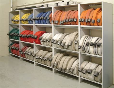 Hose Storage Rack by Firehose Cabinets Innovative Storage Solutions