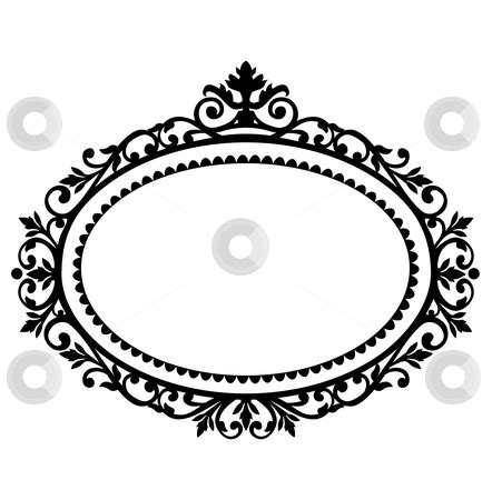 decorative oval border victorian oval frame clipart clipart panda free