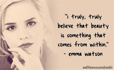 Emma Watson Quotes On Beauty | emma watson famous quotes quotesgram
