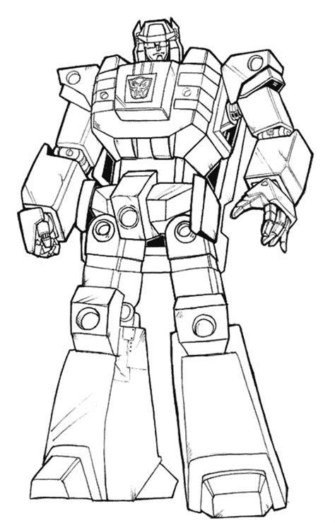 dibujos para pintar transformers 135 dibujos de transformers para colorear oh kids page 4