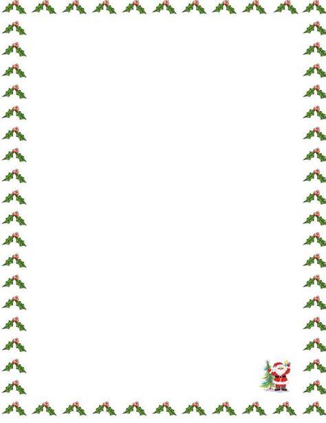 letter border templates kb jpeg santa