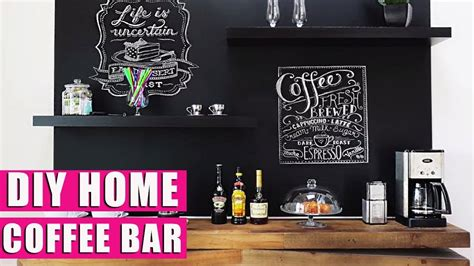 diy make at home dreadlock shoo bar diy home coffee bar coffee station youtube