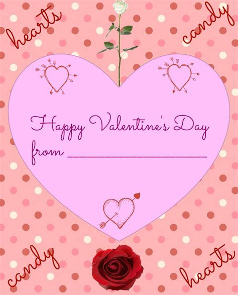 valentines for valentine s day card printable other crafts pays2save