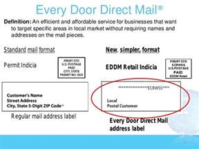 Every Door Direct Mail Postcard Template by Direct Mail To Every Door Low Cost Local And In Living Color