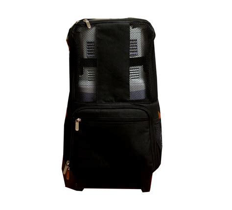 home front view 5726 inogen one g3 rolling backpack by portablez 1st class