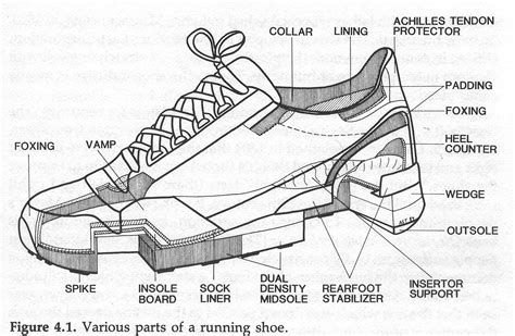 running shoe anatomy anatomyofashoe