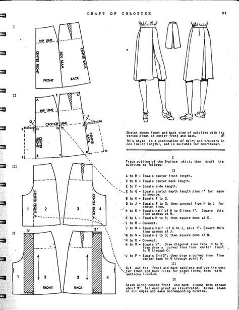 pattern drafter uk 52 best sewing culottes images on pinterest pants