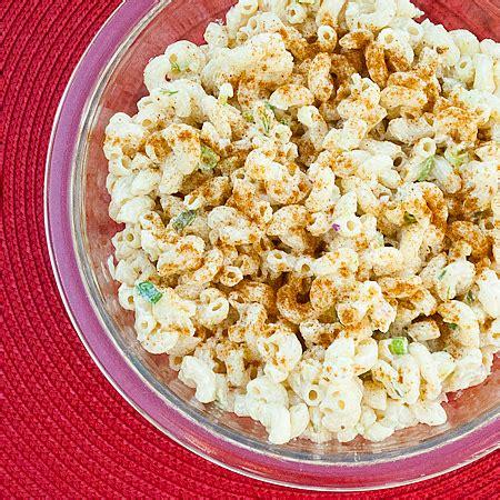 classic pasta salad classic mac salad recipe dishmaps