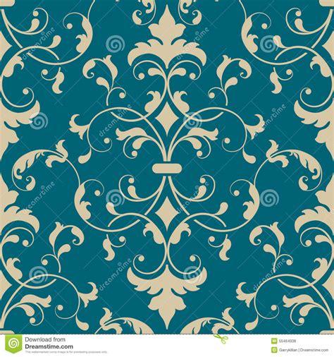damask seamless pattern element vector damask seamless pattern element elegant stock