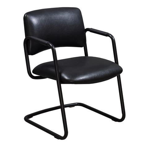 black leather side chair steelcase used leather side chair black national office