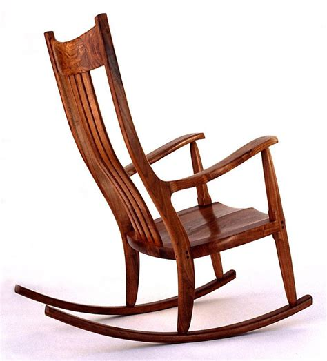sam maloof style rocking chair things to build