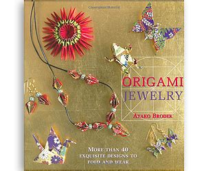 Origami Jewelry Book - origami jewelry book buy this bling