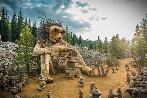 wooden troll removed in colorado could get new home