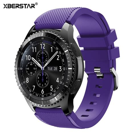 Promo Samsung Galaxy Gear S3 Frontier Original Promo Price Tid019 22mm sports silicone bands for samsung galaxy